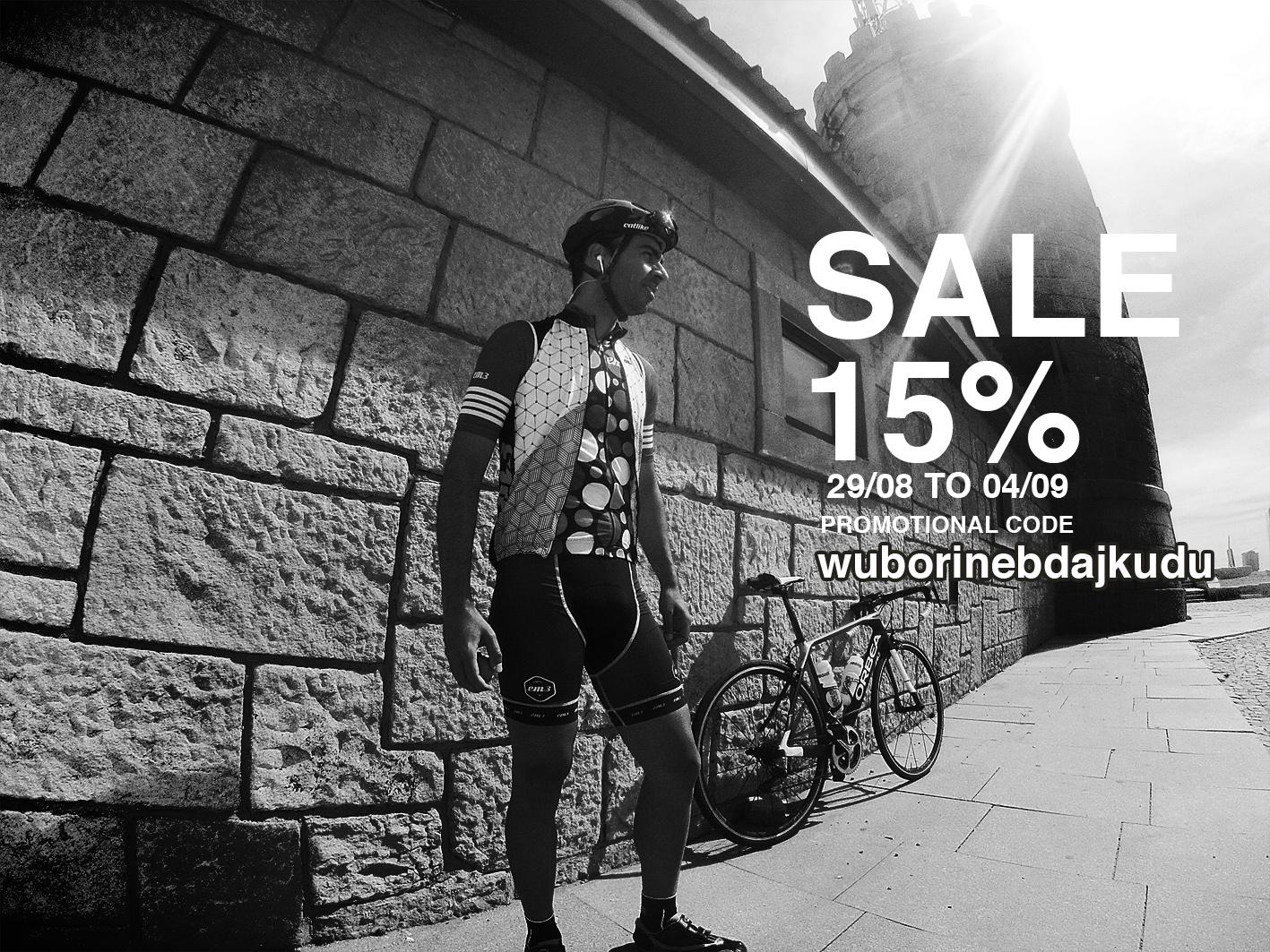 15% desconto - Cycling - Vintage Series