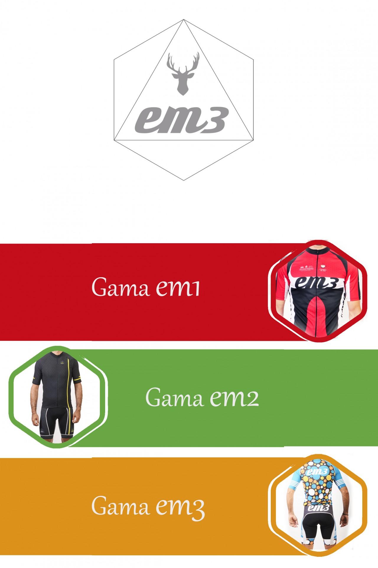 Gamas EM3 para Equipas