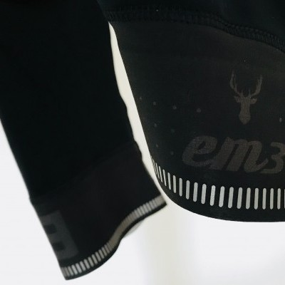 BibShort Black Winter Reflect