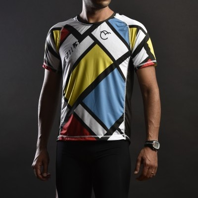 Shirt Running Mondrian