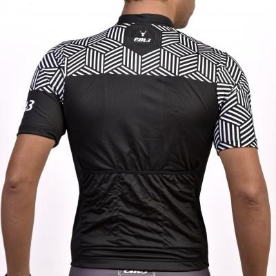 KIT Jersey  + Short white and black KIT