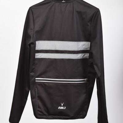 Jacket Black Reflet waterproff thermal