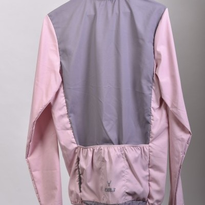 Jacket Wind and waterproof Pink grey