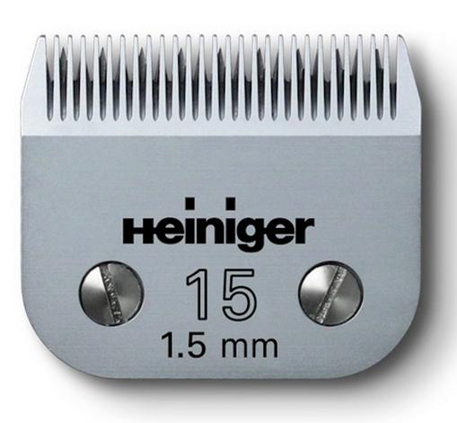 Lâmina para máquina SAPHIR 1,5mm, Heininger