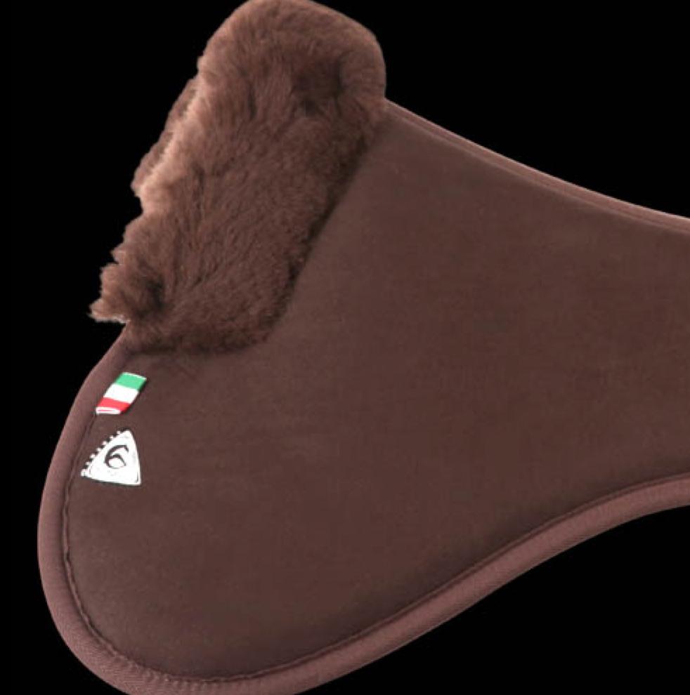 Protector Dorso Close Contact Memory Foam com 1?2 de pelo Merino, Acavallo