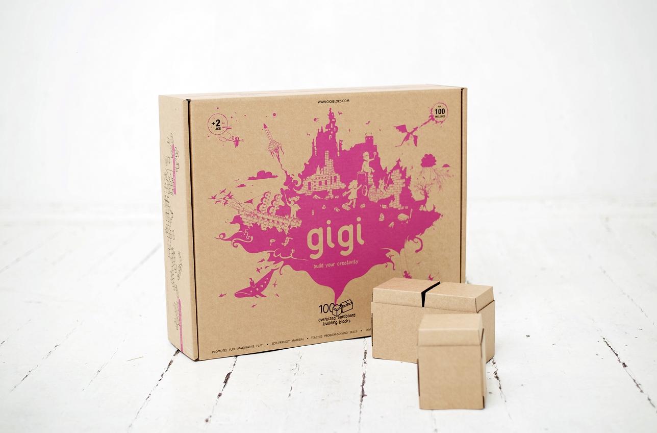 Blocos Gigi 100 - Cartão