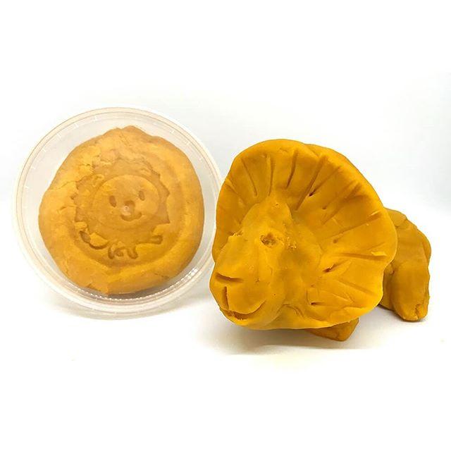 Embalagem de plasticina orgânica  Ailefo - Amarelo