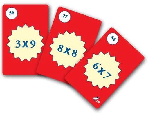 Tabuada de la multiplicación - Juegos Matemáticos
