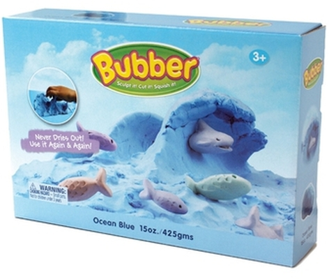 Caixa Bubber Azul