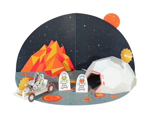 Espaço - Brinquedo de Papel