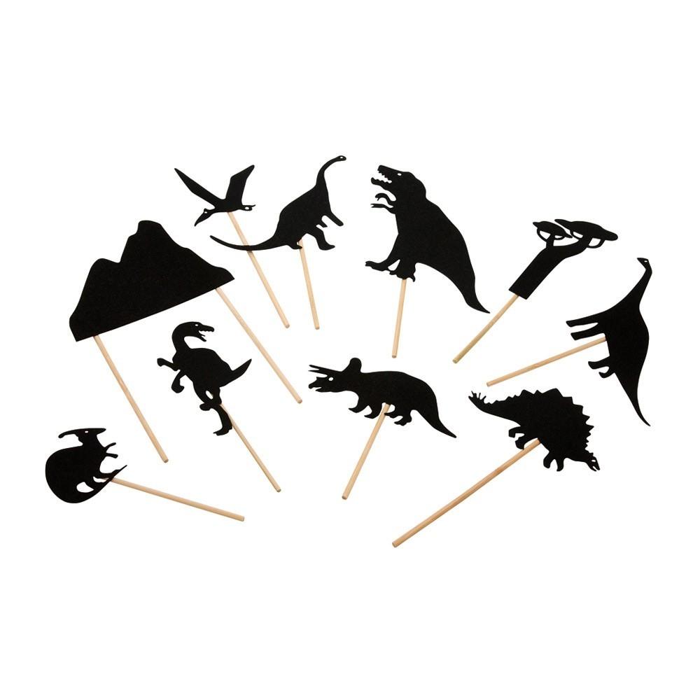 Dinosaurios Sombras