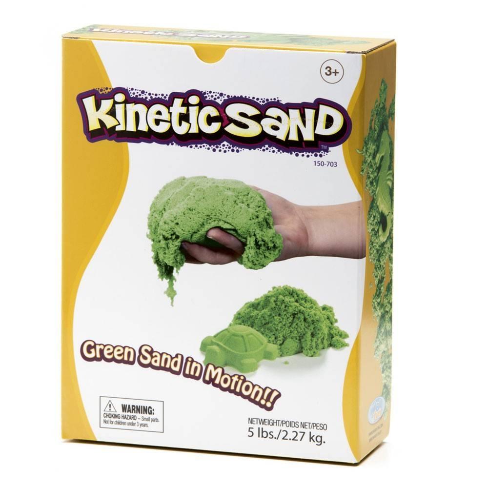 Sable cinétique vert