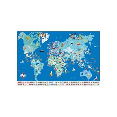 Autoculantes Bandeiras do Mundo