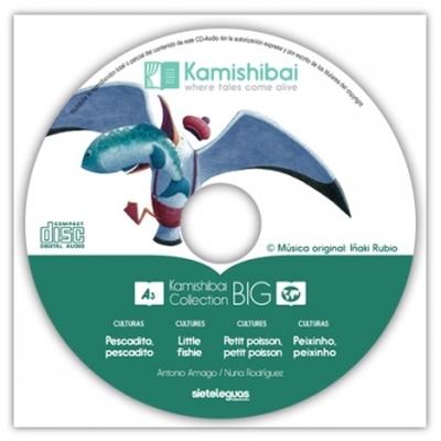 História Kamishibai A3 - Peixinho, Peixinho