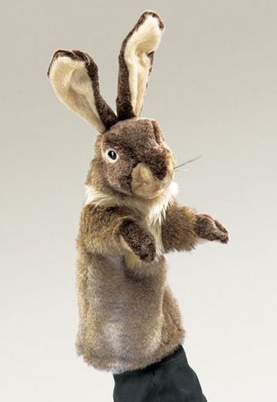 Rabbit Puppet of Stage