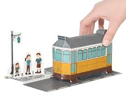 Elétrico - Brinquedo Papel