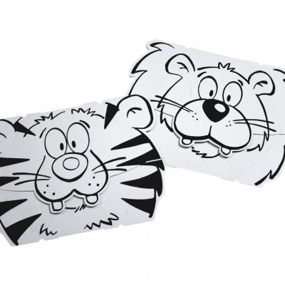 Lion and Tiger Mask - Card