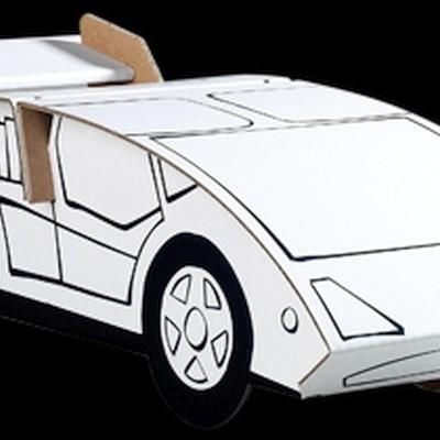 EasyFun Carro de Corrida - Cartão