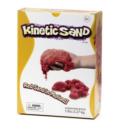 Red Kinetic Sand