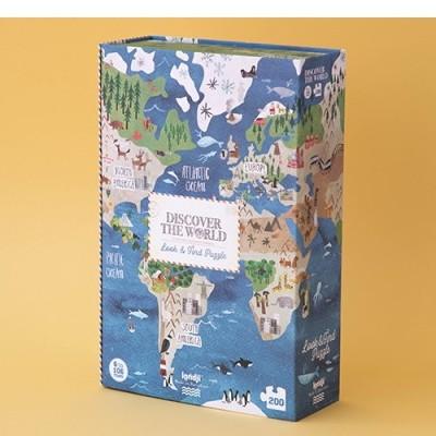Puzzle Descobre o Mundo