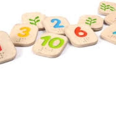 Números em Braille