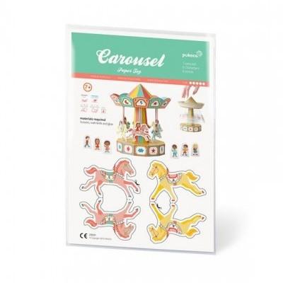 Carrocel - Brinquedo Papel
