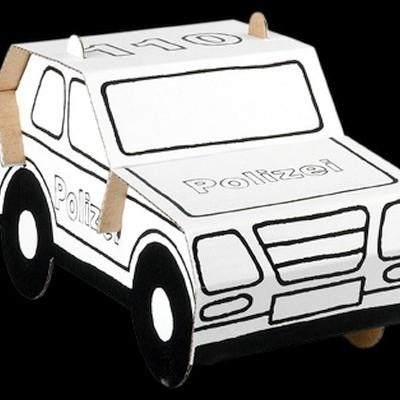 EasyFun Carro de Polícia - Cartão