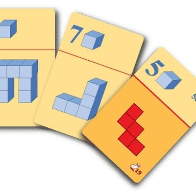 Mathematical Game Cubes