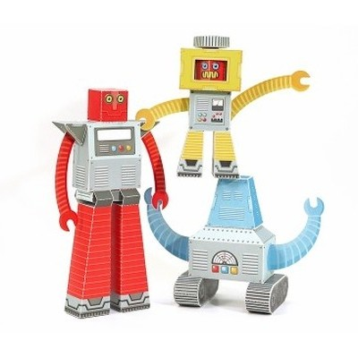 Robots - Papier Jouet