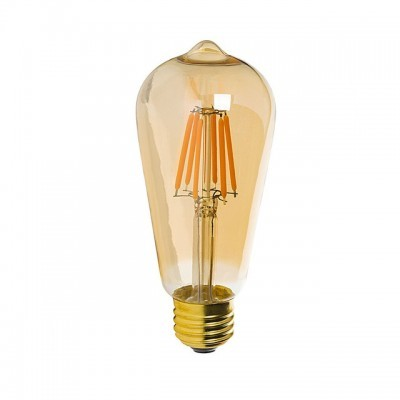 LED E27 Filamento Gold 5,5W