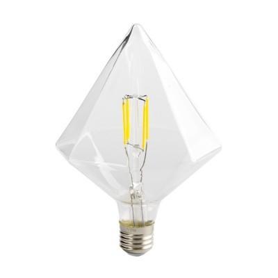 Lâmpada LED E27 Filamento Piramide 3,5W