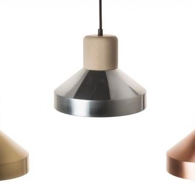 STEEL WOOD LAMP 240