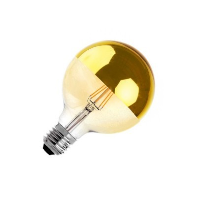 Lâmpada LED E27 Filamento Reflect Supreme Gold G125
