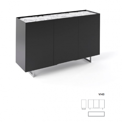 Vision entry sideboard