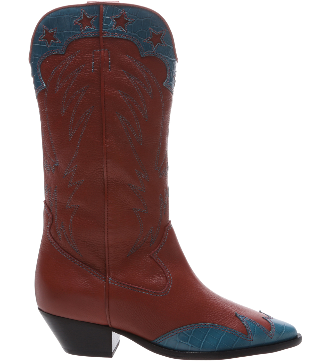 BOTA SCHUTZ S2068900020001 RED BROWN/PAVAO