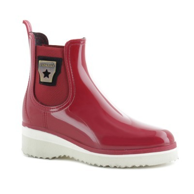 RAINYBOOT CUBANAS DI DERBY230 RED