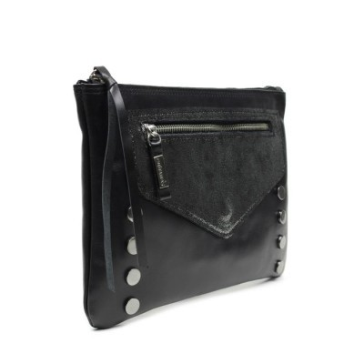 MALA CUBANAS LONDON410 BLACK+PEWTER