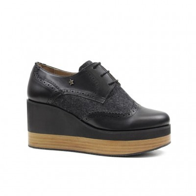 OXFORD CUBANAS BELLA100 BLACK+ANTRACITE
