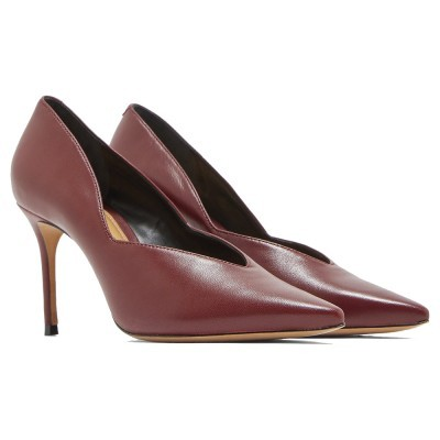 SCARPIN SCHUTZ S0309401600016 RED BROWN