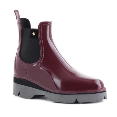RAINYBOOT CUBANAS DERBY210 BORDEAUX+GREY