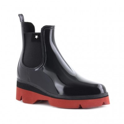 RAINYBOOT CUBANAS DERBY210 BLACK+TERRACOTA