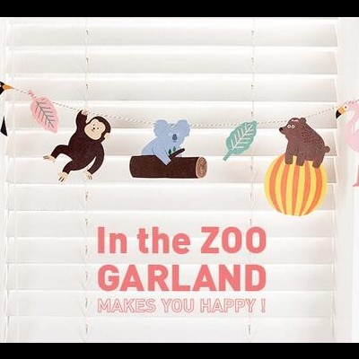 Party Garland | In the Zoo