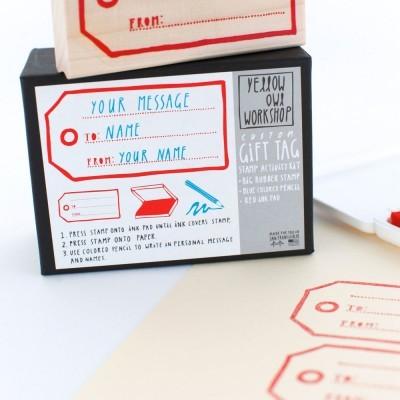 Stamp Tag | Carimbo Etiqueta