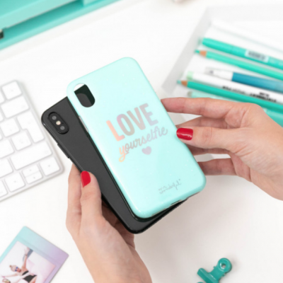 Capa para Iphone X/XS - Love yourselfie