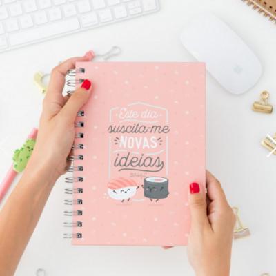 Caderno | Este dia suscita-me novas ideias