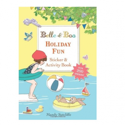 Holiday Fun Sticker & Activity Book | Livro de atividades e autocolantes