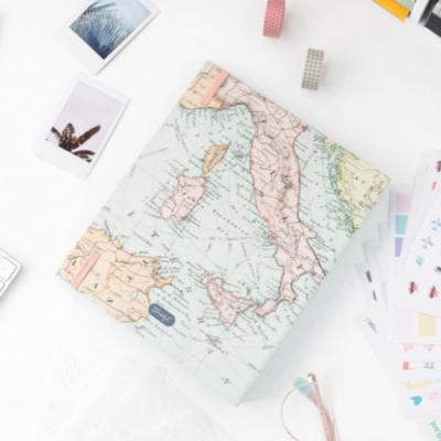 Kit scrapbooking de viagem - Lugares e aventuras que nunca esquecerei