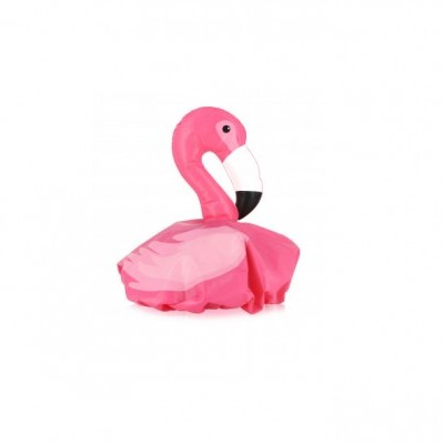 Flamingo shower cap