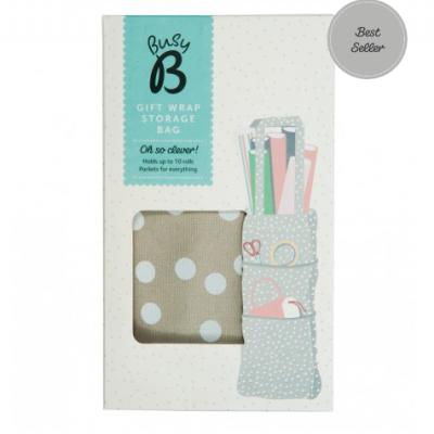 Saco em tecido | Gift Wrap Storage Bag