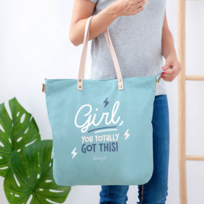 Mala | Saco- Girl, you totally got this!